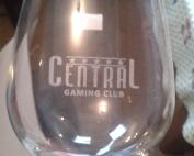 Гравирана стъклена чаша