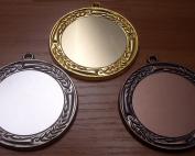 Комплект спортни медали с размер ф 5см