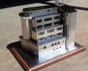 Лазерно изрязан макет от неръждаема стомана