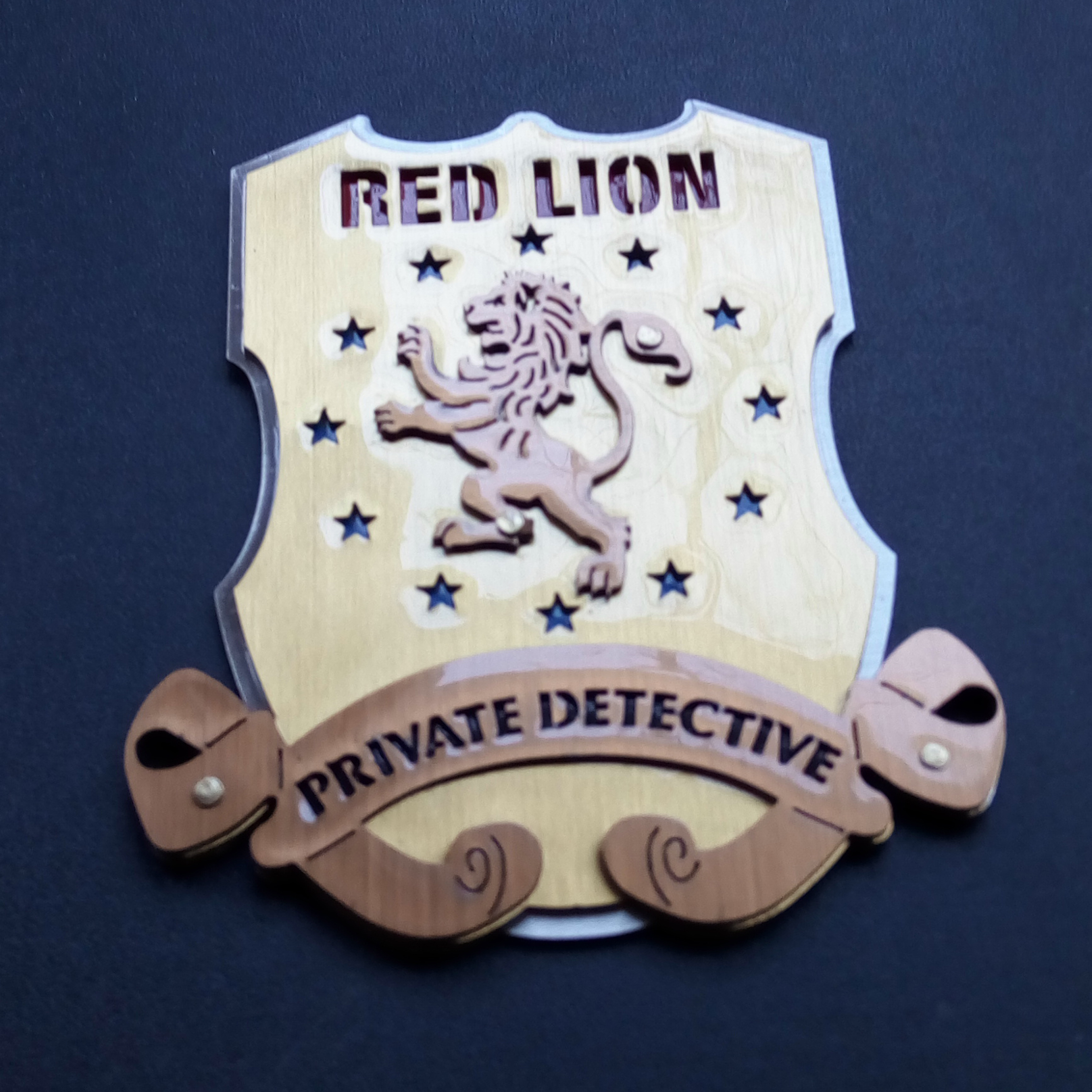 Опознавателен знак - Private Detective