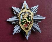Метална значка - Национална служба за охрана