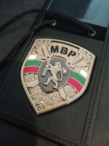 Метален знак на МВР - Парадна униформа